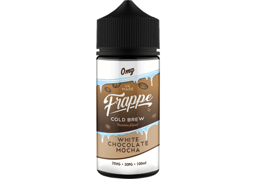 WHITE CHOCOLATE MOCHA E LIQUID BY FRAPPE 100ML 70VG - Eliquids Outlet