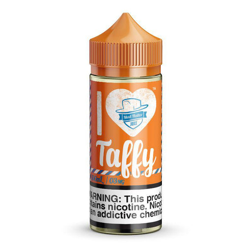 I LOVE TAFFY E LIQUID BY MAD HATTER 80ML 70VG - Eliquids Outlet