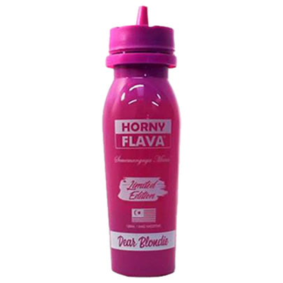 DEAR BLONDIE LIMTED EDITION E LIQUID BY HORNY FLAVA 100ML 50VG