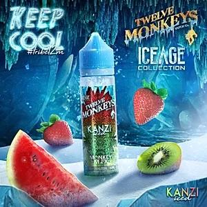 KANZI ICED E LIQUID BY 12 MONKEYS 50ML 70VG - Eliquids Outlet