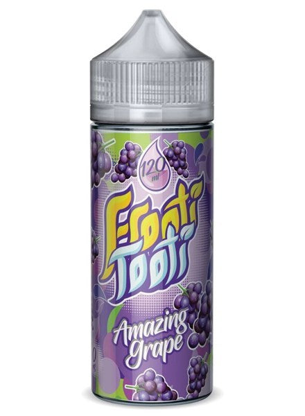 AMAZING GRAPE E LIQUID BY FROOTI TOOTI 100ML 70VG