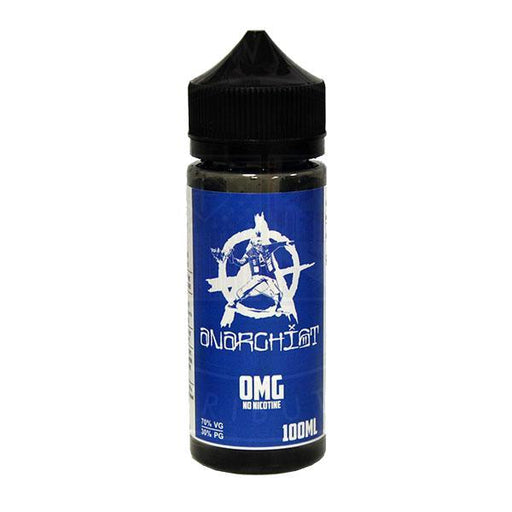 BLUE E LIQUID BY ANARCHIST 100ML 70VG