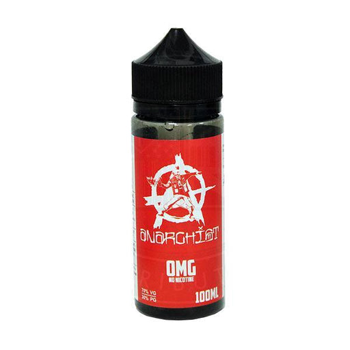 RED E LIQUID BY ANARCHIST 100ML 70VG