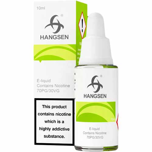 10ML ICE  MENTHOL E LIQUID BY HANGSEN  - X1 X5 X10 X20 X50