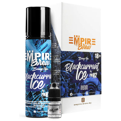 BLACKCURRANT ICE E LIQUID BY EMPIRE BREW 50ML 70VG
