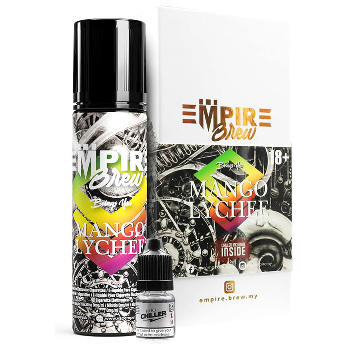 MANGO LYCHEE E LIQUID BY EMPIRE BREW 50ML 70VG