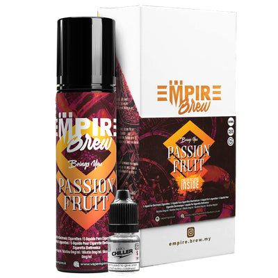 PASSION FRUIT E LIQUID BY EMPIRE BREW 50ML 70VG