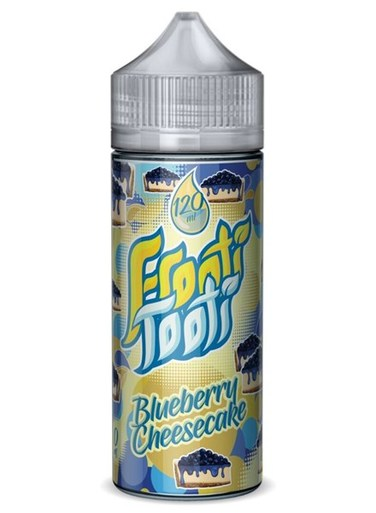 BLUEBERRY CHEESECAKE E LIQUID BY FROOTI TOOTI 100ML 70VG