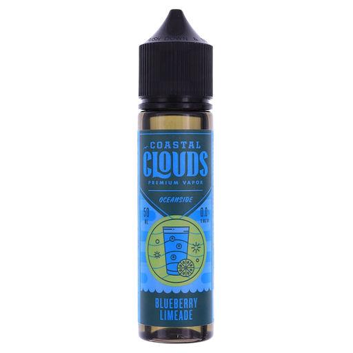 BLUEBERRY LIMEADE E LIQUID BY COASTAL CLOUDS - OCEANSIDE 50ML 70VG