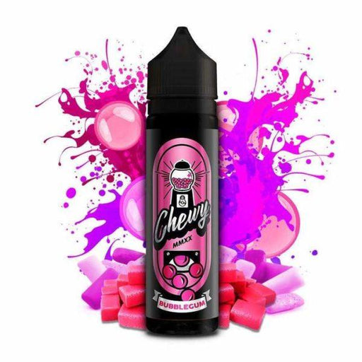 ORIGINAL BUBBLEGUM E LIQUID BY CHEWY 50ML 80VG