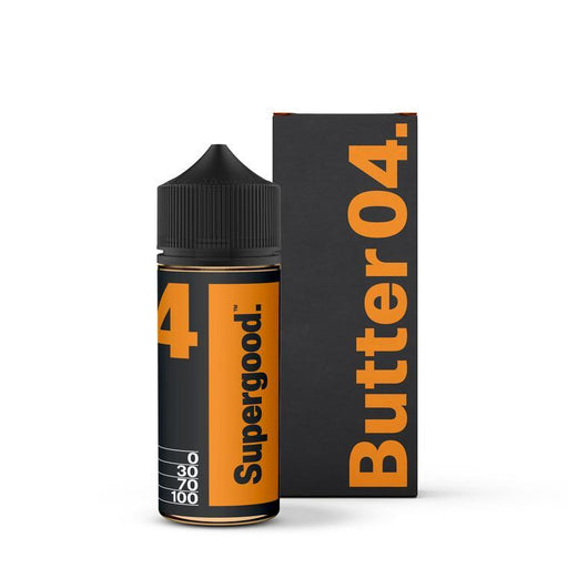 BUTTER 04.  E LIQUID BY SUPERGOOD 100ML 70VG - Eliquids Outlet