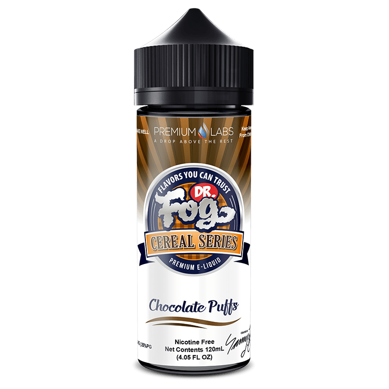 CHOCOLATE PUFFS CEREAL E LIQUID BY DR FOG 100ML 75VG - Eliquids Outlet