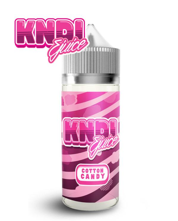 COTTON CANDY E LIQUID BY KNDI EJUICE 100ML 70VG