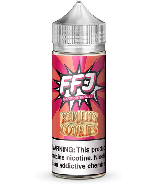 KRISPIE RED JELLY COOKIES E LIQUID BY FOOD FIGHTER JUICE 100ML 80VG