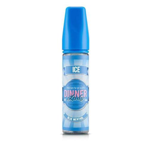 BLUE MENTHOL ICE E LIQUID BY DINNER LADY - ICE 50ML 70VG - Eliquids Outlet
