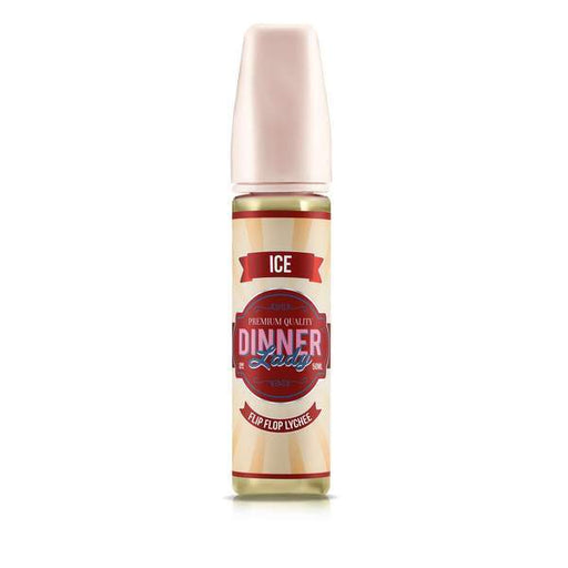 FLIP FLOP LYCHEE ICE E LIQUID BY DINNER LADY - ICE 50ML 70VG - Eliquids Outlet