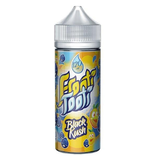 BLACK KUSH E LIQUID BY FROOTI TOOTI 160ML 70VG - Eliquids Outlet