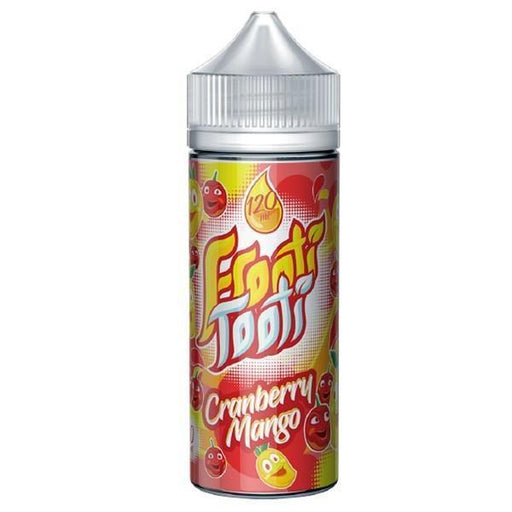 CRANBERRY MANGO E LIQUID BY FROOTI TOOTI 160ML 70VG - Eliquids Outlet