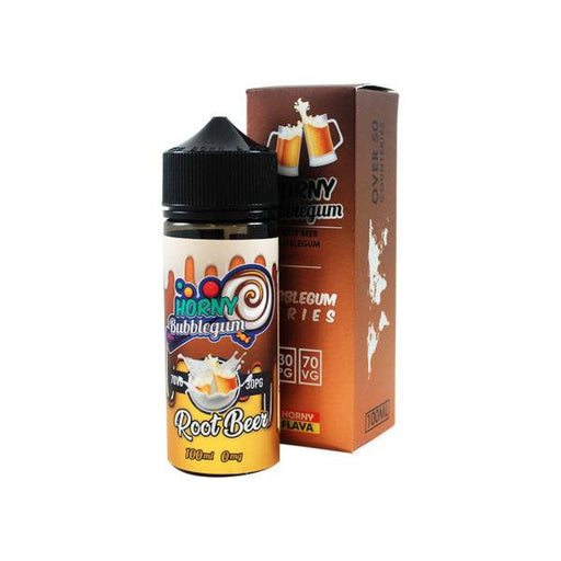 ROOT BEER BUBBLEGUM E LIQUID BY HORNY FLAVA 100ML 70VG