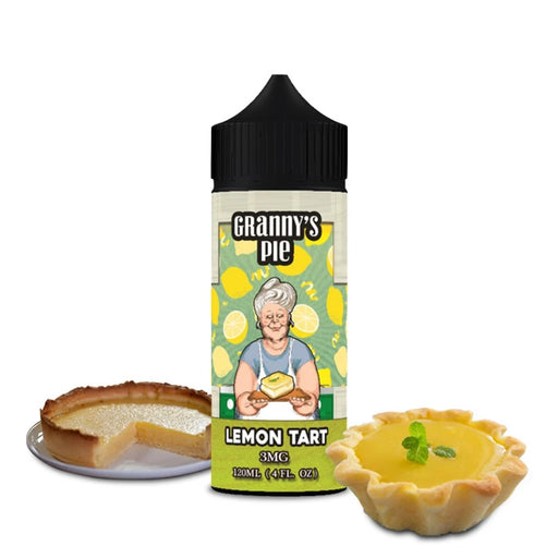 LEMON TART GRANNYS PIE E LIQUID BY VAPE BREAKFAST CLASSIC 100ML 70VG