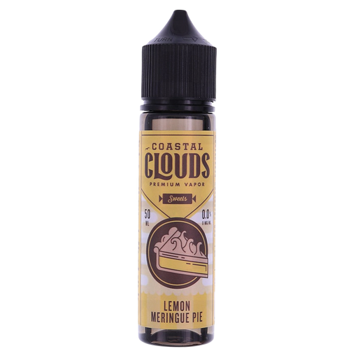 LEMON MERINGUE PIE E LIQUID BY COASTAL CLOUDS - SWEETS  50ML 70VG