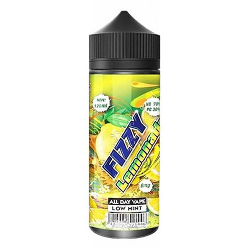 FIZZY LEMONADE E LIQUID BY FIZZY JUICE - MOHAWK & CO 100ML 70VG