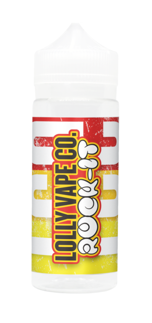 ROCK IT ON ICE E LIQUID BY LOLLY VAPE CO 100ML 80VG