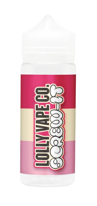 SCREW IT E LIQUID BY LOLLY VAPE CO 100ML 80VG