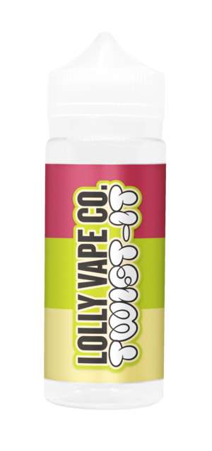 TWIST IT E LIQUID BY LOLLY VAPE CO 100ML 80VG