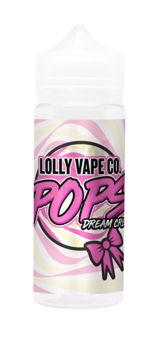DREAM CREAM E LIQUID BY LOLLY VAPE CO - POPS 100ML 80VG