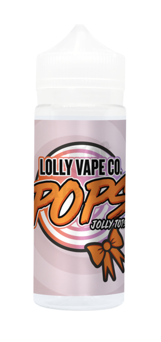 JOLLY TOTTS  E LIQUID BY LOLLY VAPE CO - POPS 100ML 80VG