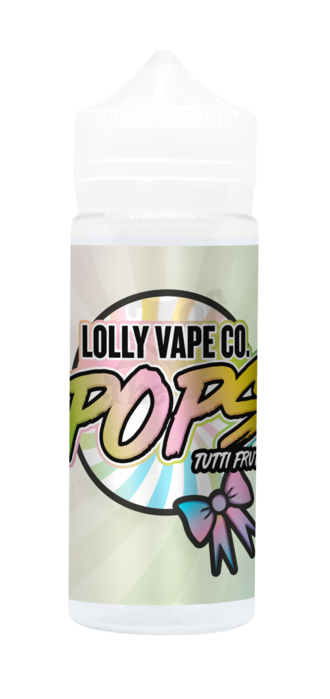 TUTTI FRUITY E LIQUID BY LOLLY VAPE CO - POPS 100ML 80VG