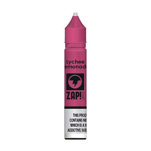 LYCHEE LEMONADE NICOTINE SALT E-LIQUID BY ZAP! - Eliquids Outlet