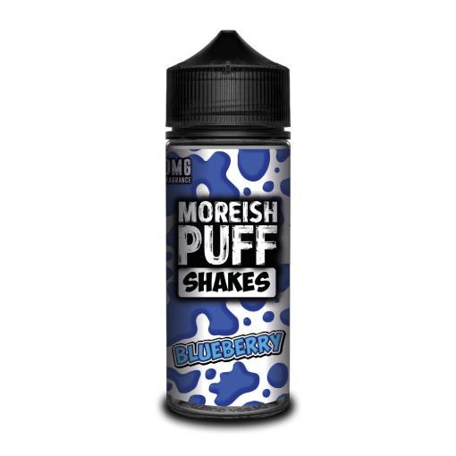 BLUEBERRY E LIQUID BY MOREISH PUFF - SHAKES 100ML 70VG