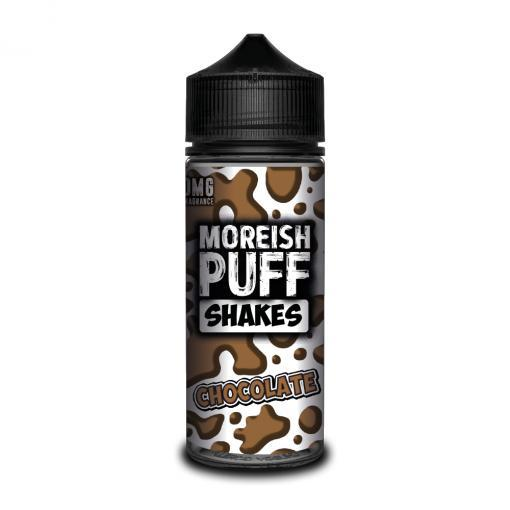 CHOCOLATE E LIQUID BY MOREISH PUFF - SHAKES 100ML 70VG