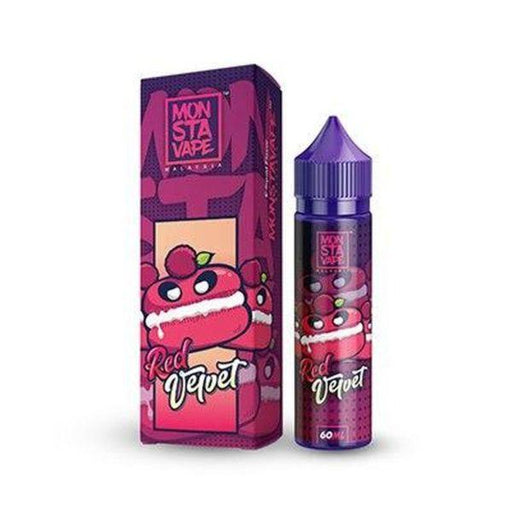 RED VELVET E LIQUID BY MONSTAVAPE - DESSERTS 50ML 70VG