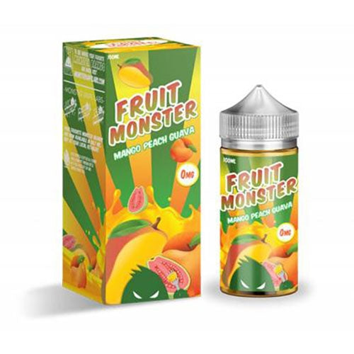 MANGO PEACH GUAVA E LIQUID BY  FRUIT MONSTER 100ML 75VG