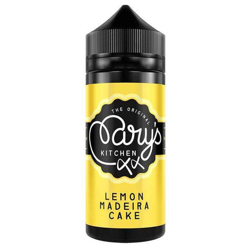 LEMON MADEIRA CAKE E LIQUID BY MARY'S KITCHEN 100ML 70VG - Eliquids Outlet