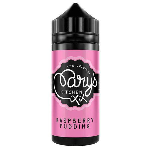 RASPBERRY PUDDING E LIQUID BY MARY'S KITCHEN 100ML 70VG - Eliquids Outlet