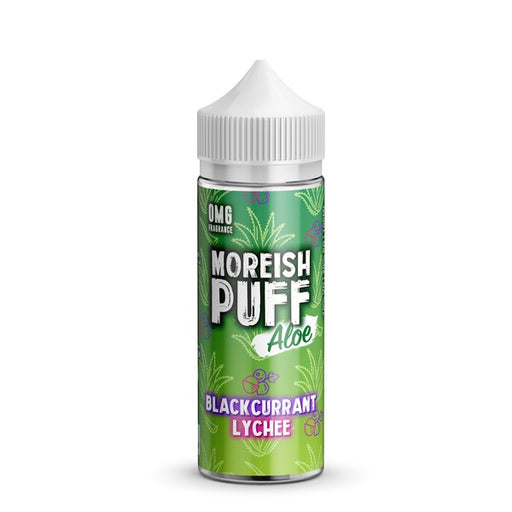 BLACKCURRANT LYCHEE E LIQUID BY MOREISH PUFF - ALOE 100ML 70VG