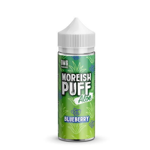 BLUEBERRY E LIQUID BY MOREISH PUFF - ALOE 100ML 70VG