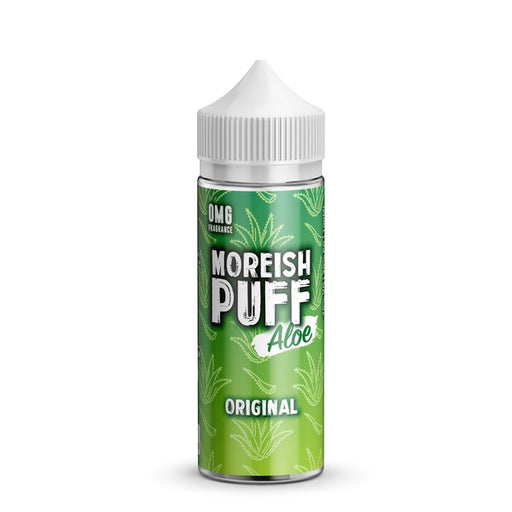 ORIGINAL E LIQUID BY MOREISH PUFF - ALOE 100ML 70VG