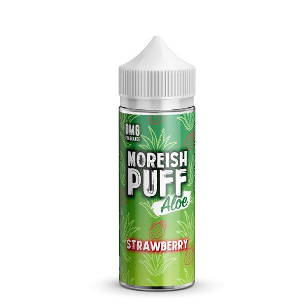 STRAWBERRY E LIQUID BY MOREISH PUFF - ALOE 100ML 70VG