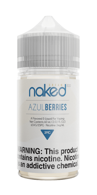 AZUL BERRIES E LIQUID BY NAKED 100 - CREAM 50ML 70VG - Eliquids Outlet