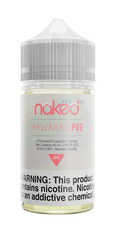 HAWAIIAN POG ICE E LIQUID BY NAKED 100 - ICE 50ML 70VG - Eliquids Outlet