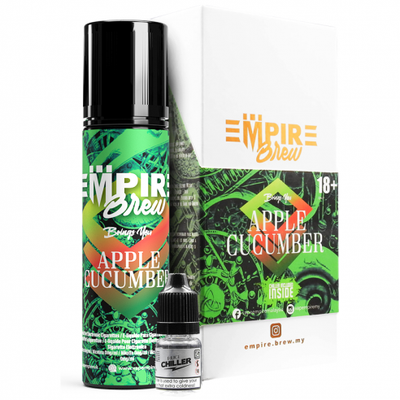 APPLE CUCUMBER E LIQUID BY EMPIRE BREW 50ML 70VG