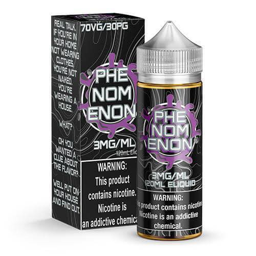 PHENOMENON E LIQUID BY NOMENON 100ML 70VG - Eliquids Outlet