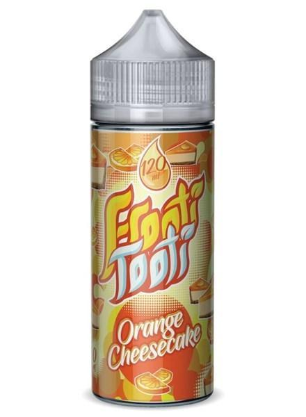 ORANGE CHEESECAKE E LIQUID BY FROOTI TOOTI 160ML 70VG - Eliquids Outlet