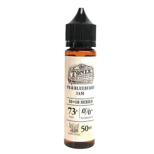 PB & BLUEBERRY JAM E LIQUID BY TONIX 50ML 73MG - Eliquids Outlet
