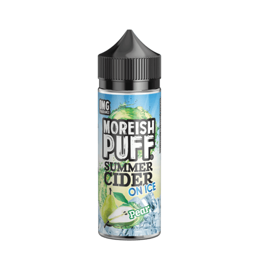PEAR E LIQUID BY MOREISH PUFF - SUMMER CIDER ON ICE 100ML 70VG - Eliquids Outlet